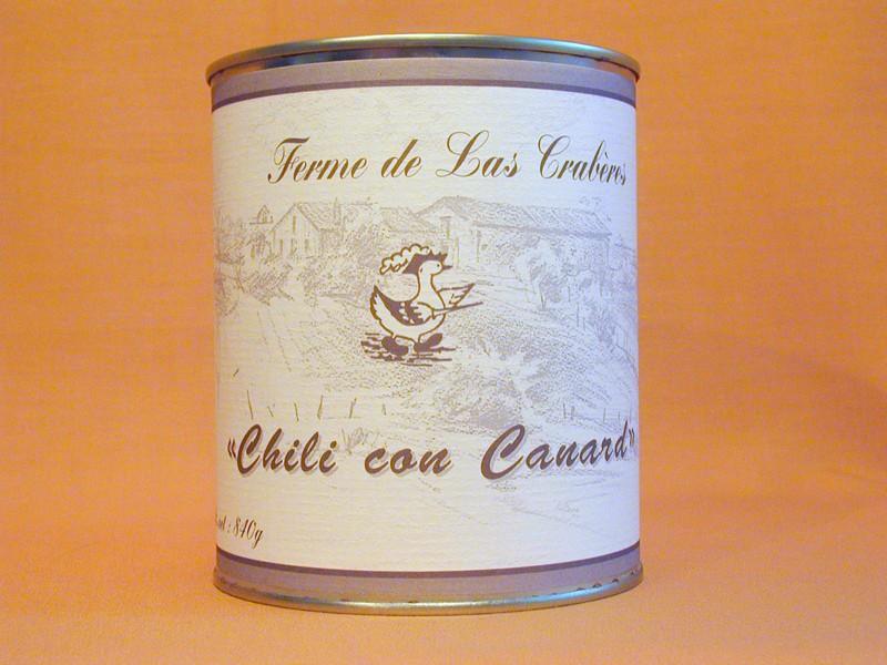 Chili con canard 840g