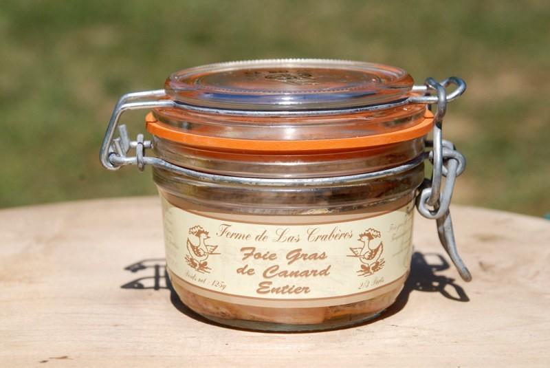 Foie gras de canard entier 125g