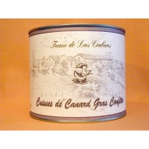 Confit de canard du Gers (4 cuisses)