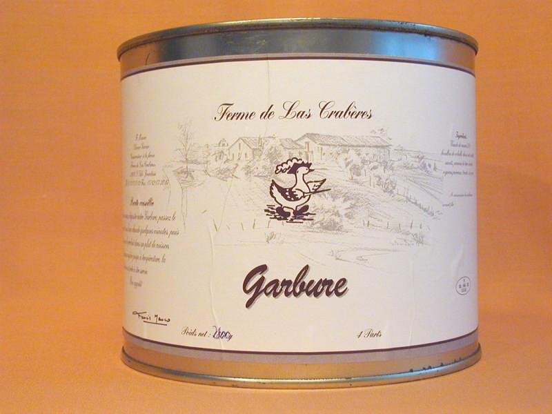 Garbure 2100g