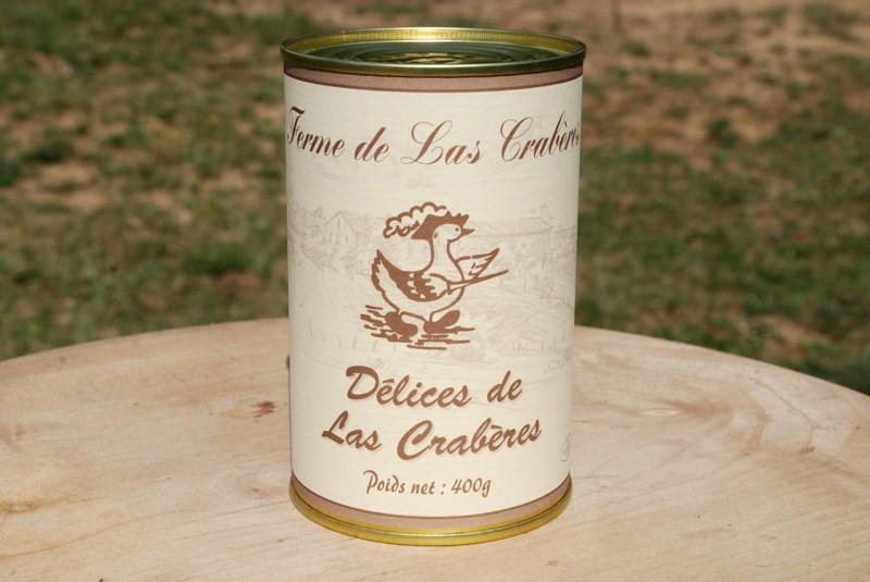 Délices de Las Crabères 400g