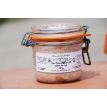 Foie gras de canard entier du Gers 185g  mi-cuit