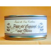 Pâté de canard aux olives 200g